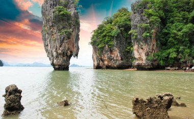 James Bond Island Rocks, Thailand