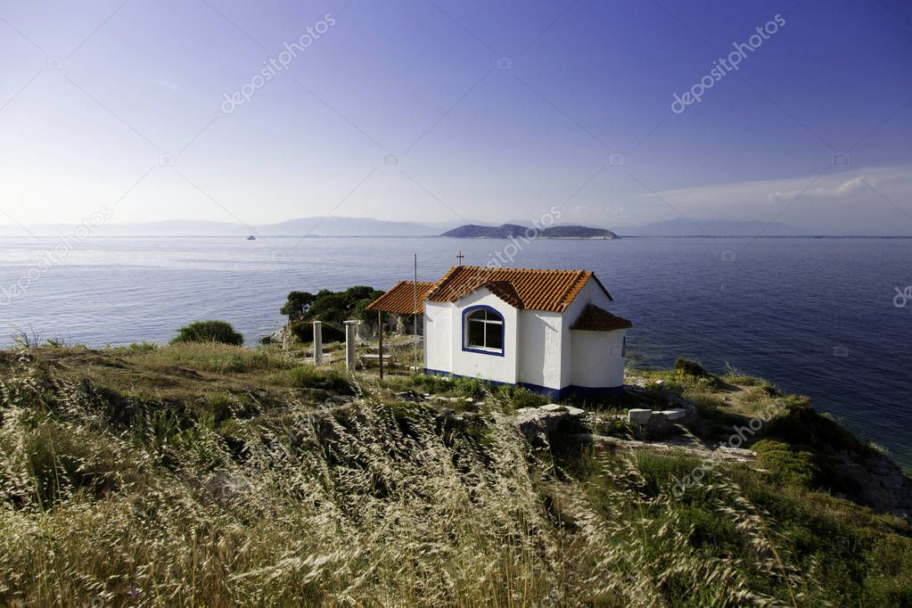 Orthodox church on Thassos island