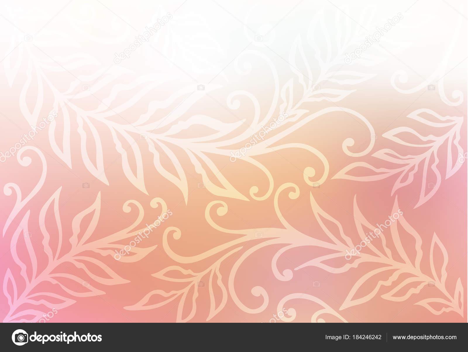 Colorido Suave Plantilla Colores Pastel — Archivo Imágenes ...