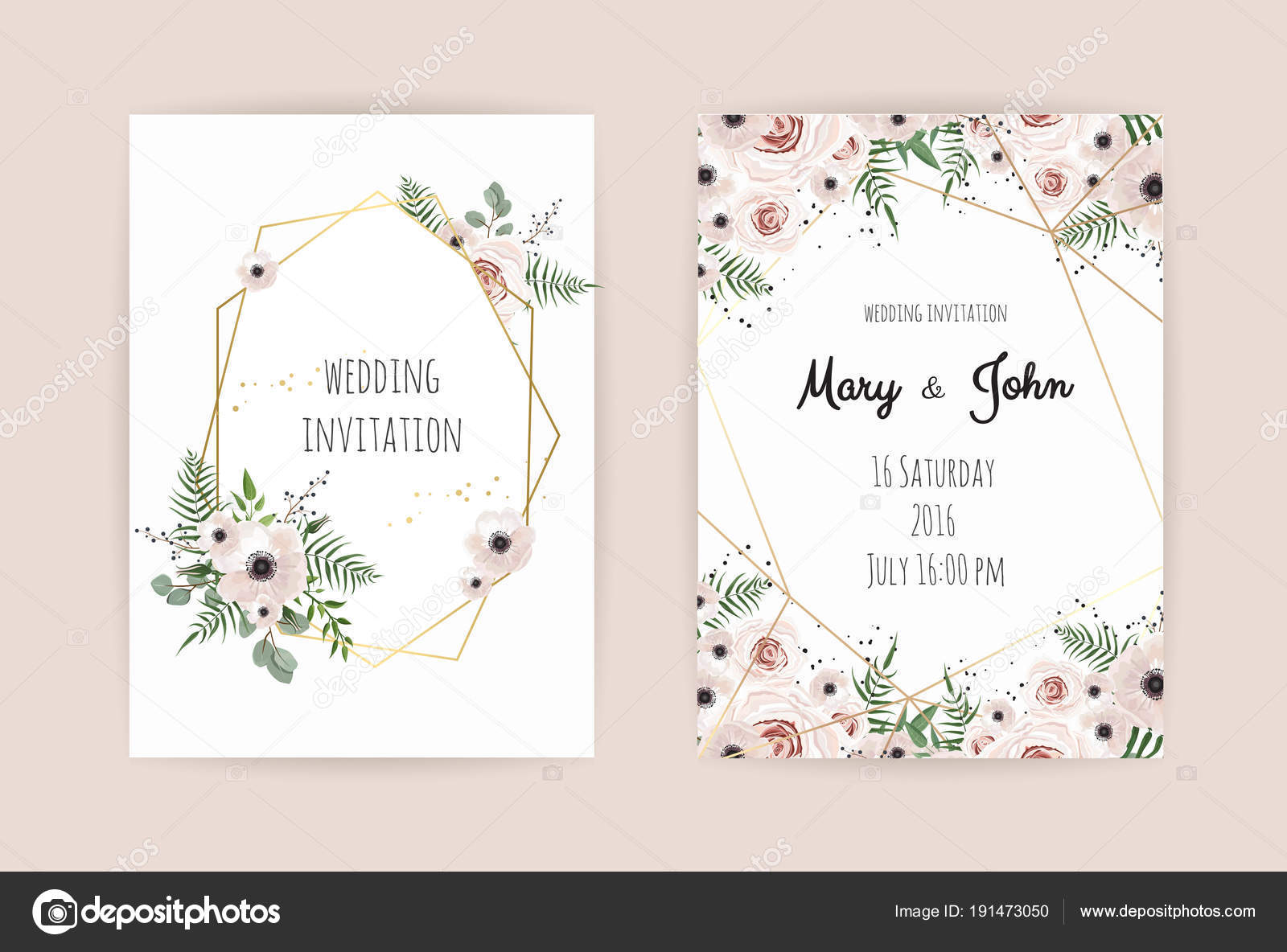ślubu Zapraszam Zaproszenie Projekt Z Eleganckim Różowych Róż I