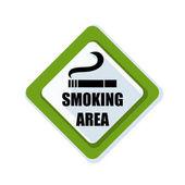 kouření oblasti znamení