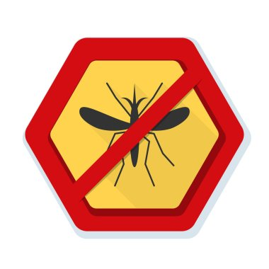 Mosquito Free sign