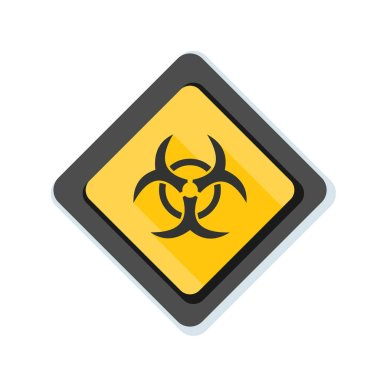 Biohazard zone sign