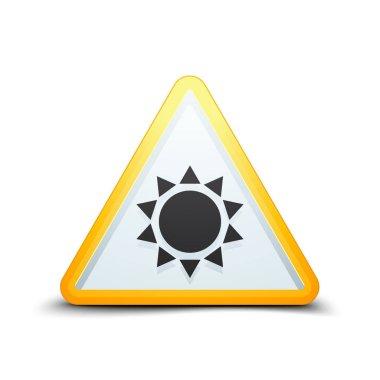 sun hazard sign