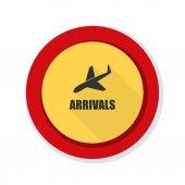 Znamení přílety letiště