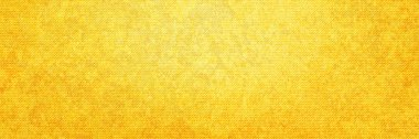 Yellow denim texture for background, vector illustration stock vector