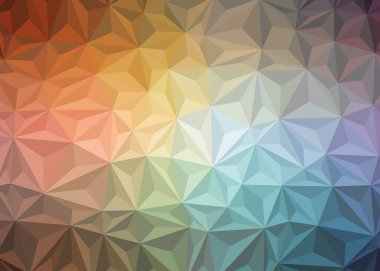 colorful gradient geometric polygonal textured background