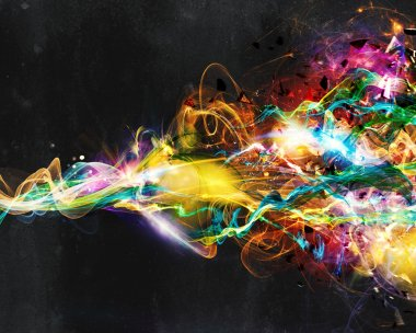 Modern abstract motion banner