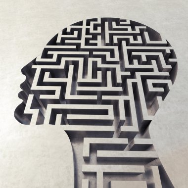Labyrinth in the head.