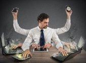 Podnikatel ve stresu z práce