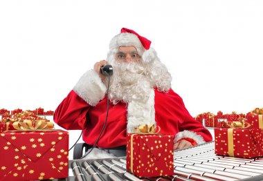 Santa Claus receives requests
