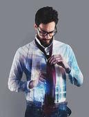 Fotografie podnikatel kravatu