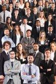 Squadra di affari, concetto azienda