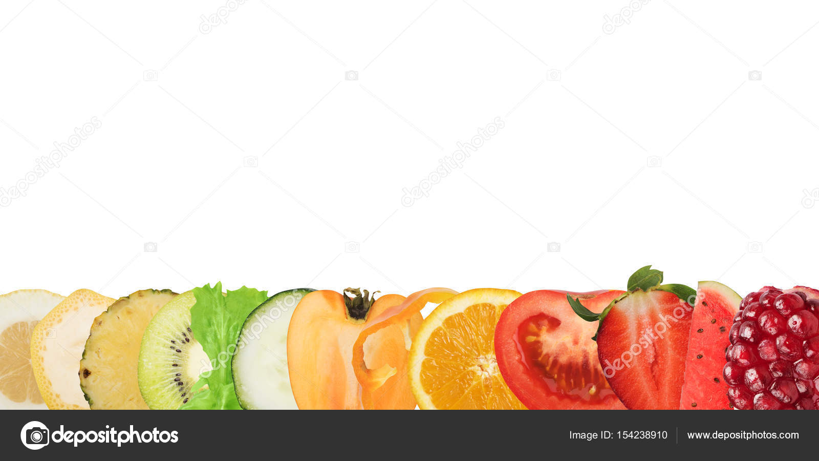 Banner Of Fruits And Vegetables Stock Photo C Alphaspirit 154238910