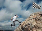 podnikatel lezení na horu