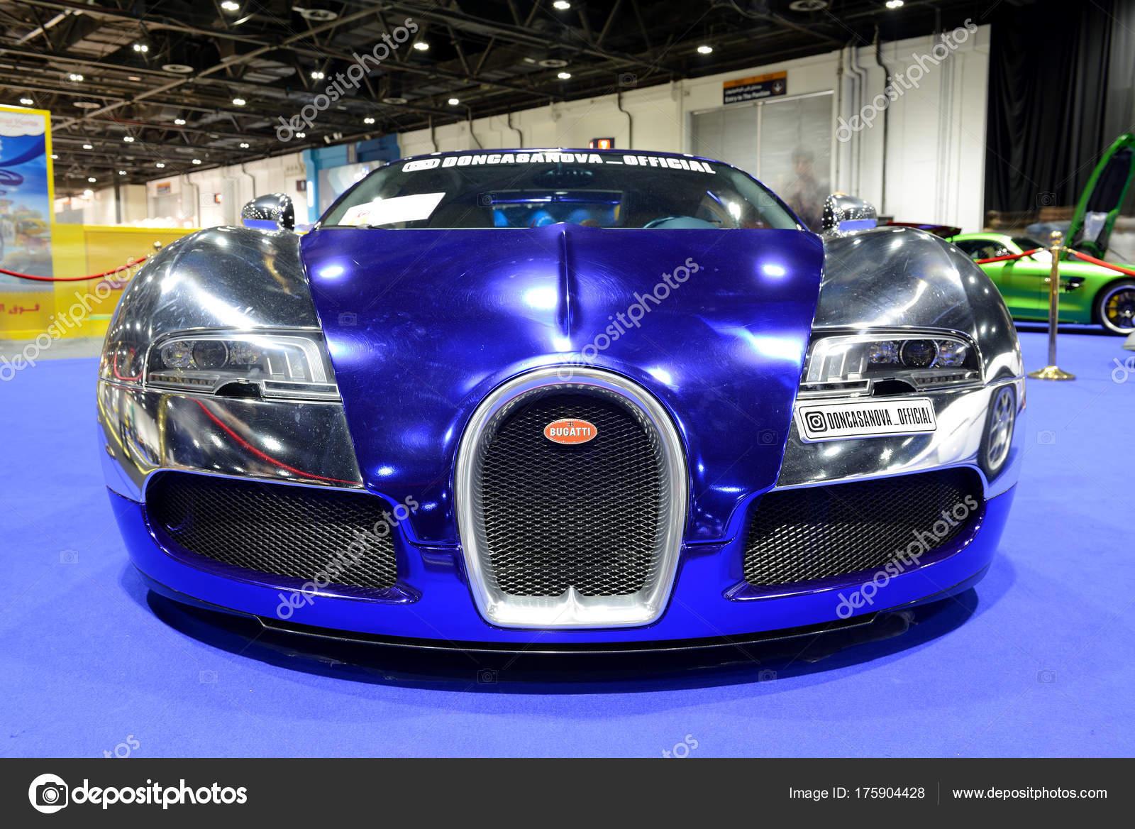 Dubai Emiratos Arabes Unidos 18 De Noviembre El Bugatti Veyron