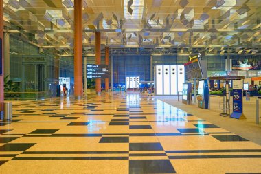 Inside of Changi Aiport