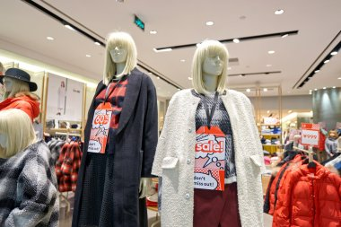 store in KK Mall in Shenzhen