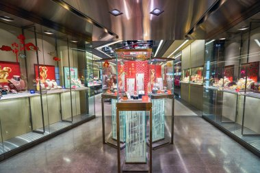 Jewellery store in Hong Kong