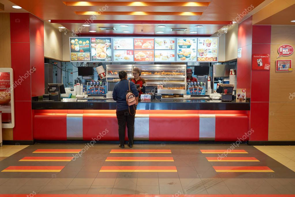 Kentucky Fried Chicken Cafe Stock Editorial Photo Teamtime