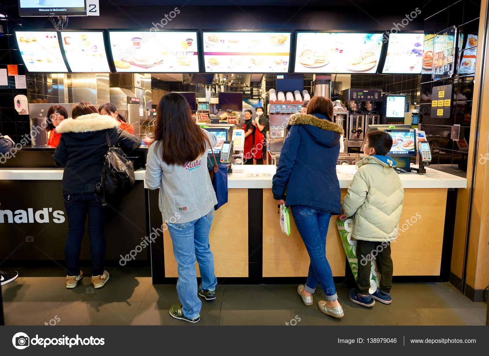 standing in a queue