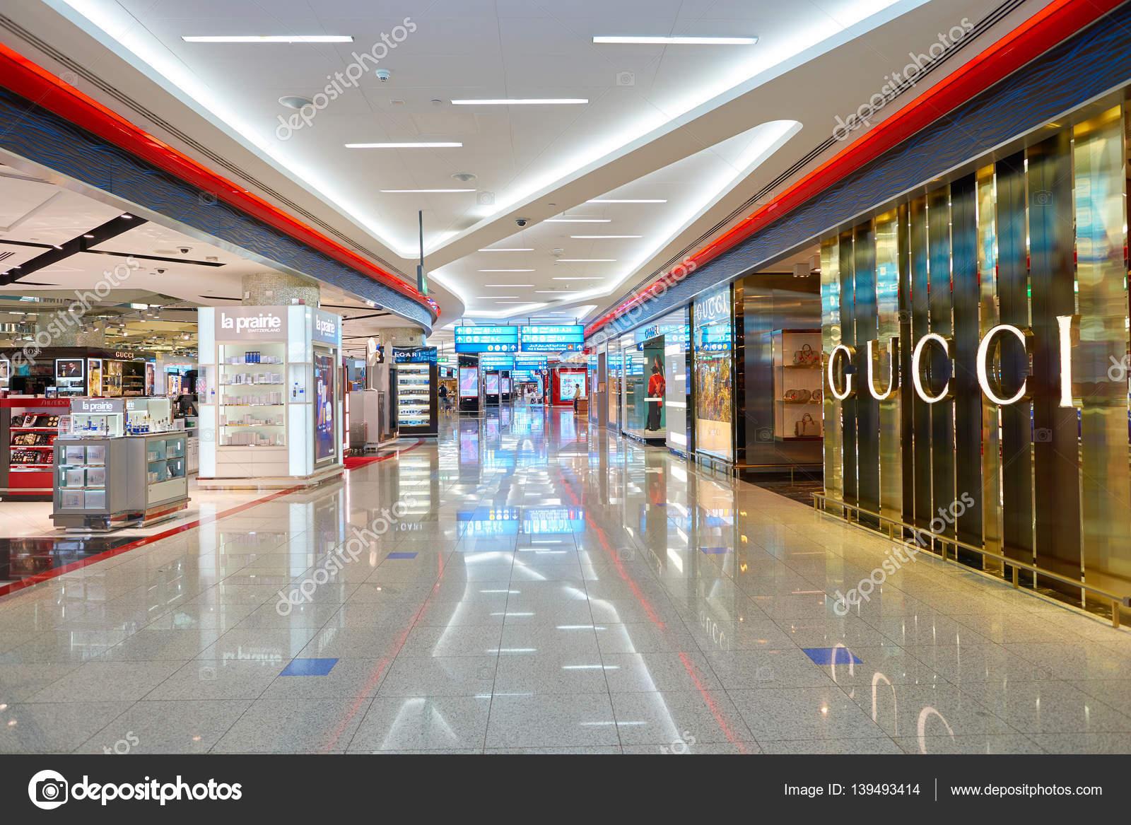 72a7c49b3ab Gucci shop at Dubai Airport – Stock Editorial Photo © teamtime ...