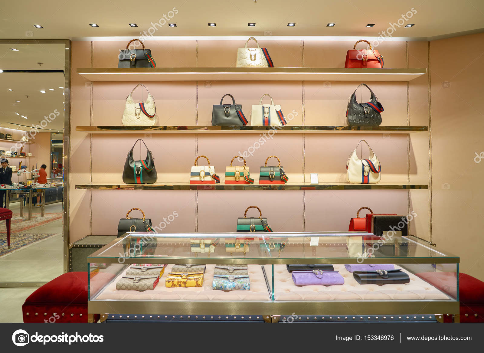0d5d8def807 Gucci store at the Elements shopping mall – Stock Editorial Photo ...