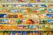 vnitřní část chuti supermarketu