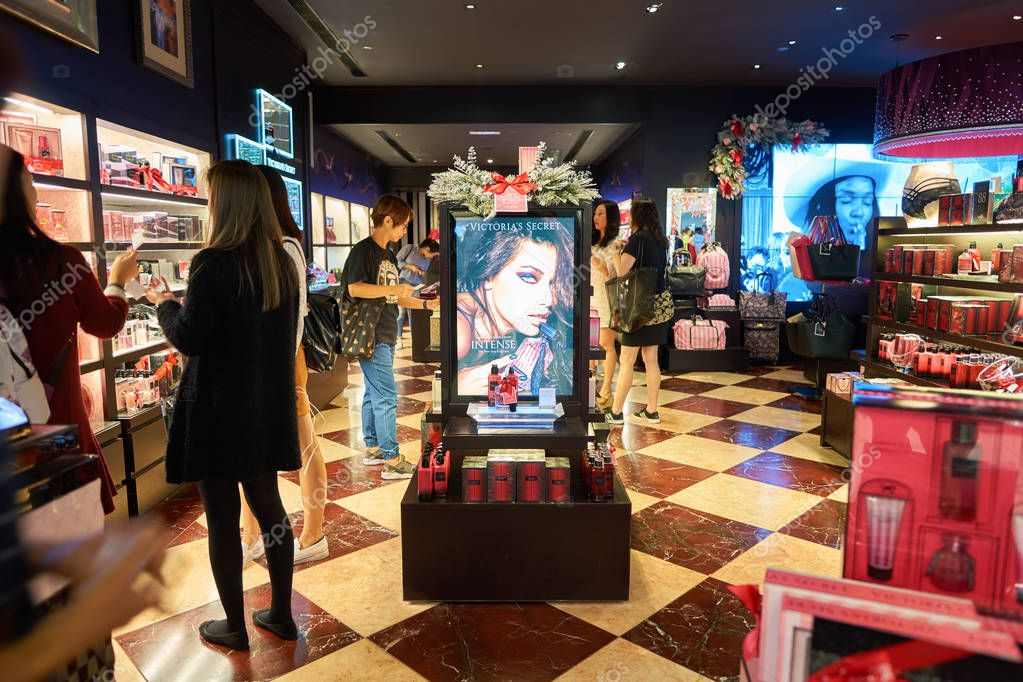 inside Victoria's Secret store