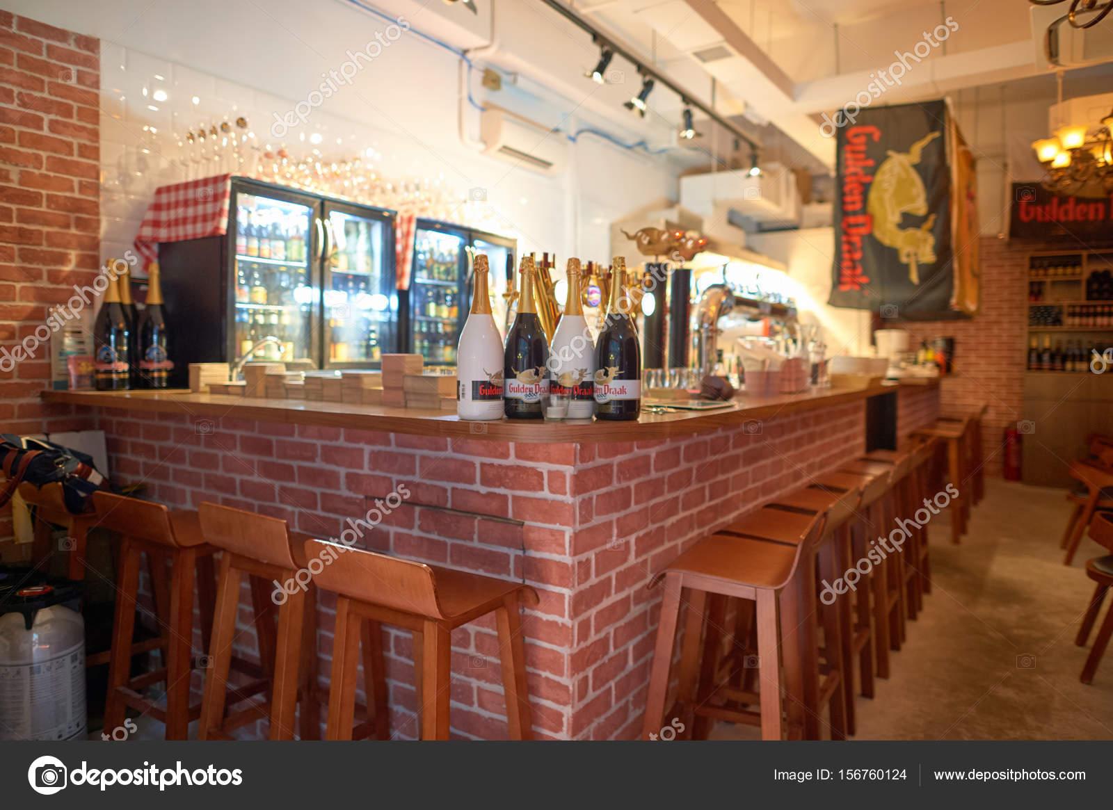 Interieur D Un Bar un bar de la ville de kennedy — photo éditoriale © teamtime