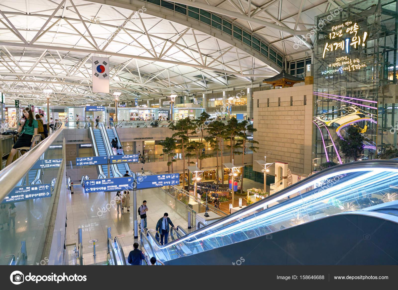 Incheon International Airport – Stock Editorial Photo © teamtime ...