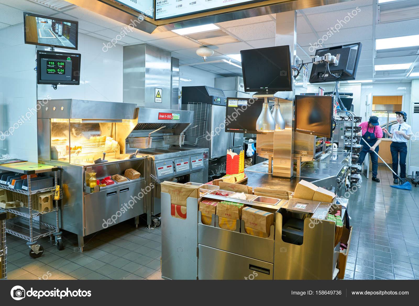 inside McDonald\'s restaurant. – Stock Editorial Photo © teamtime ...