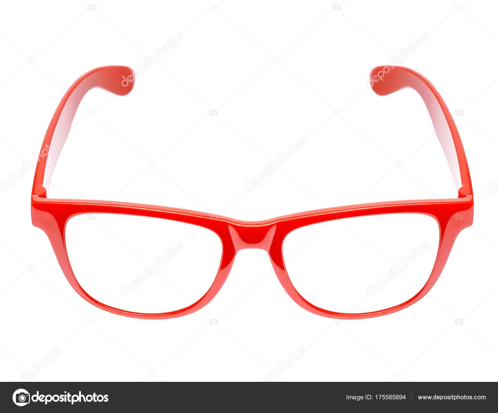 66ba458b10c055 Lunettes rouges sur fond blanc — Photographie akinshin ©  175585894