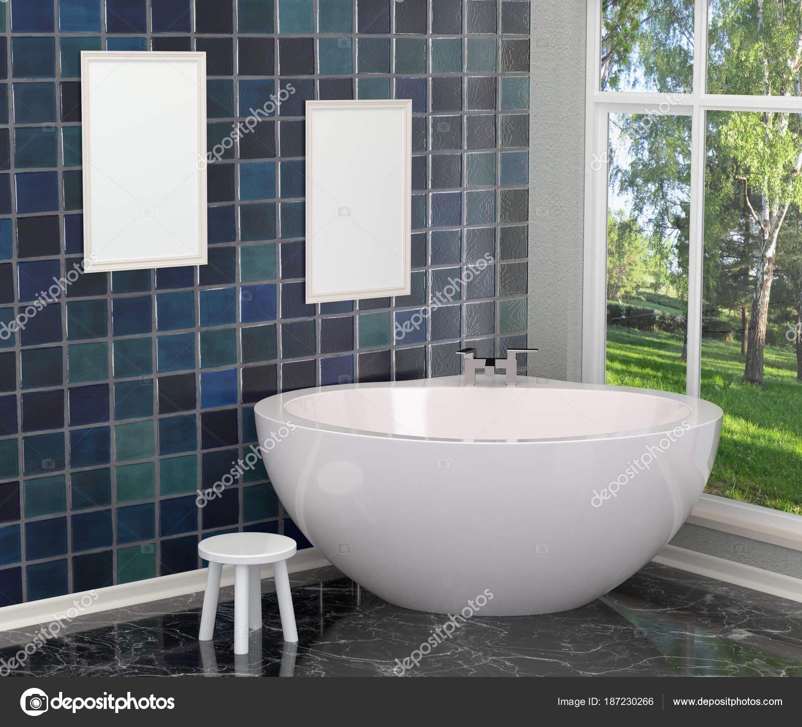Salle De Bain Luxueuse Moderne ~ blanc moderne salle de bain luxueuse dans la salle de bain avec