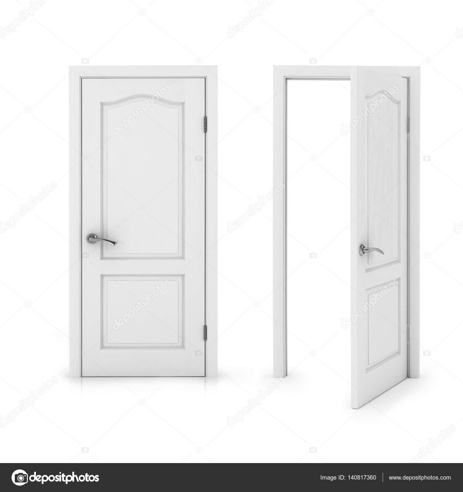 Open Door 3d Illustration Stock Photo Urfingus 140817360