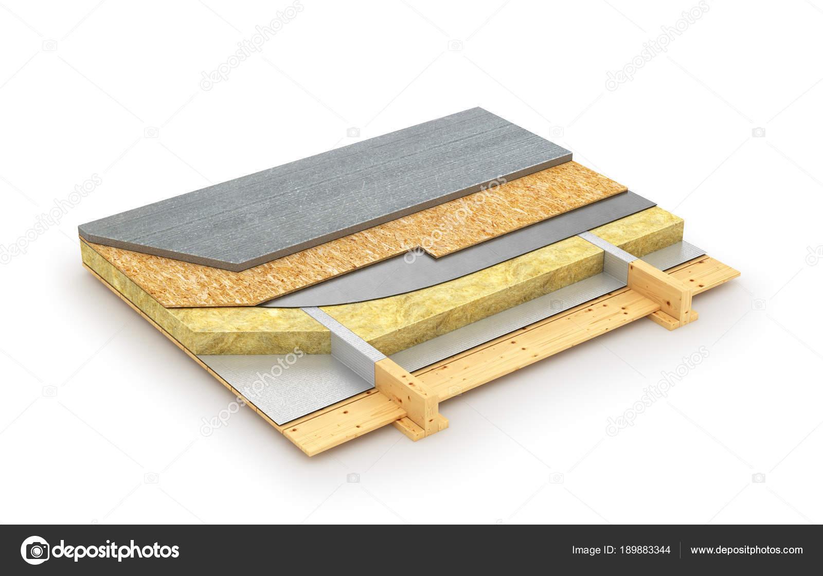 Das Gerät des Fußbodens der Fachwerkhaus ist isoliert auf einem ...