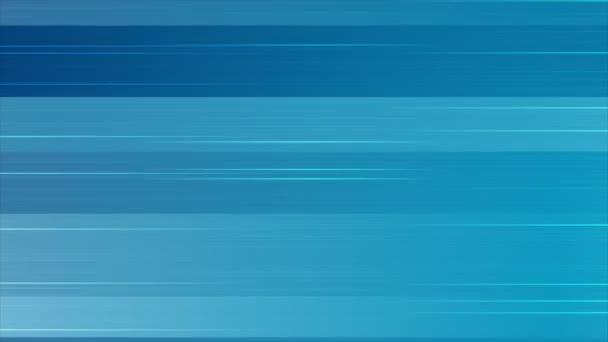 Absztrakt kék vízszintes vonalak animált háttér