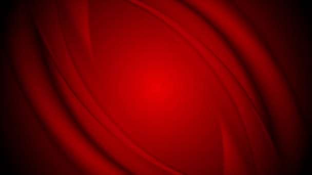 Absztrakt sima piros hullámok videoklip design