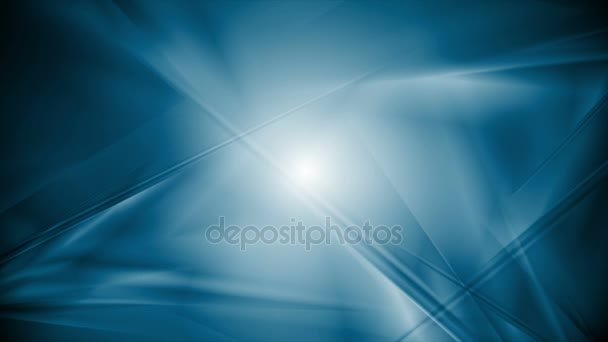 Dark blue abstract polygonal shapes video animation