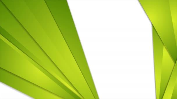 Abstrakt zelená tech firemní video animace