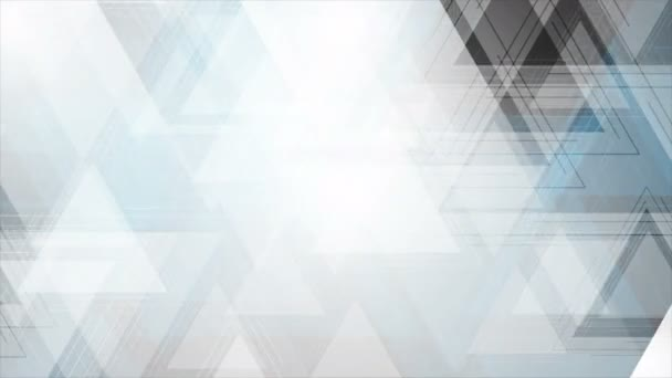 Abstract blue grey technology video animation