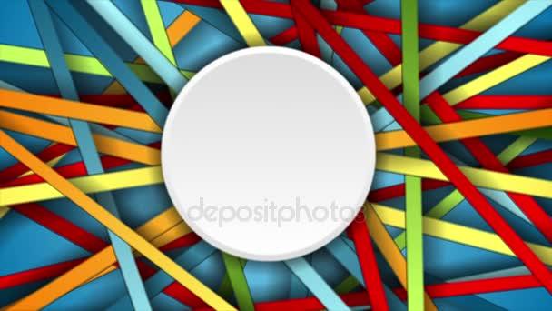 Barevné abstraktní pruhy pohybu grafický design