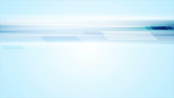 Modrý lesklý tech abstraktní video animace