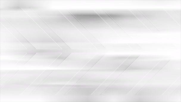 Abstract tech grey arrows video animation