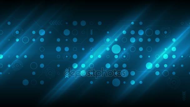Sötét kék technológia sci-fi OVA epizódnak