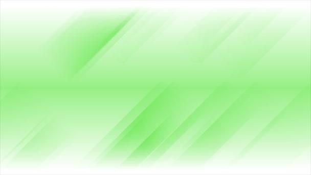 Zelené pruhy abstraktní video animace