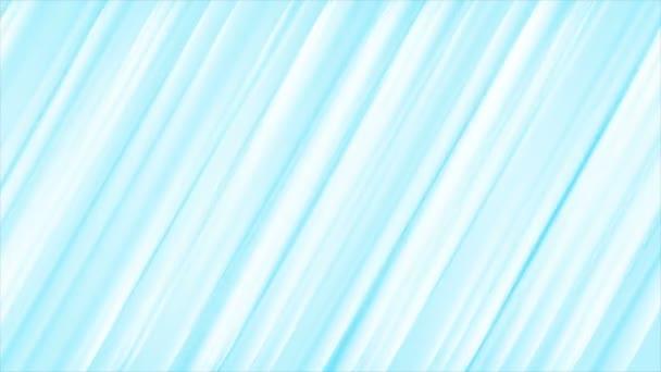 Světle modré pruhy abstraktní video animace