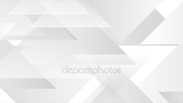 graue abstrakte Tech-geometrische Videoanimation