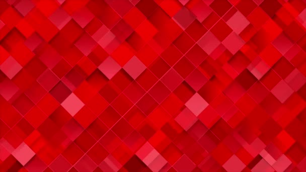 Világos piros geometriai terek mozaik OVA epizódnak