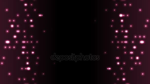 Sötét lila absztrakt ragyogó kör fények OVA epizódnak